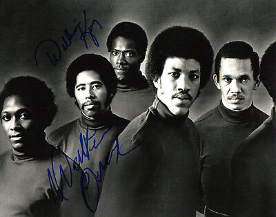 The Commodores Strict Gfa William King Walter Orange Signed 8x10 Photo Ad3 Coa