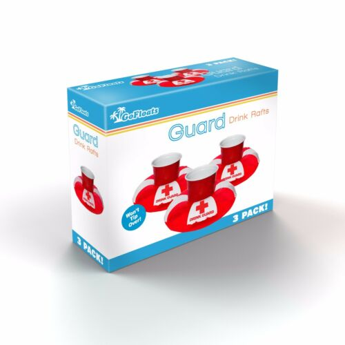 GoFloats Inflatable Drink Guard Drink Float *3 pack*