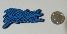 Original Michael Jackson Plastic Pin Badge button RARE bad moonwalk  vintage