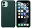 fur-iPhone-11-6-1-Apple-Echt-Original-Leder-Huelle-Leather-Case-Waldgruen-NEU Indexbild 1