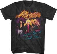 80's Nothin But A Good Time Poison Glam Hair Metal Rock Band Licensed T-shirt 2