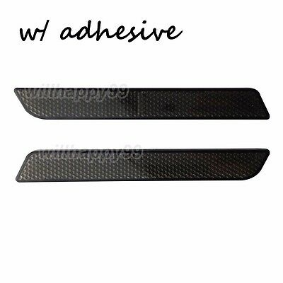 FLHT Road King,Road Glide,Street Glide NTHREEAUTO Black Saddle Bag Reflector Inserts Latch Covers Compatible with 2014-2020 Harley Touring model,FLT
