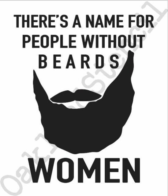 Beard STENCIL**There's a name for people**for Signs Wood Fabric Crafts Funny