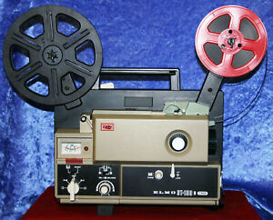 ELMO-ST-180-SUPER-8mm-2-TRACK-MAGNETIC-SOUND-MOVIE-PROJECTOR-SERVICED-A1