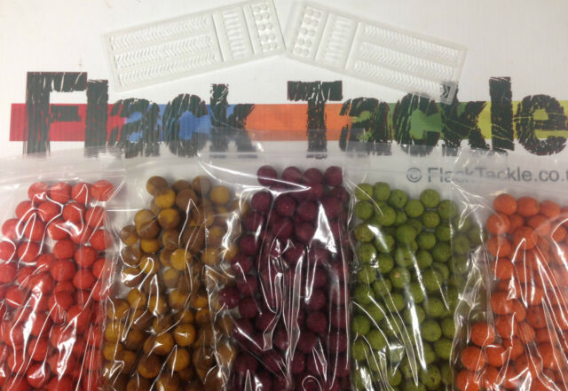 Five Mixed Packs of Boilies + Free Hair Stops - Pineapple, Scopex, Krill etc