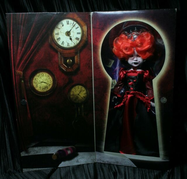 Living Dead Dolls Inferno as The Queen of Hearts in Wonderland Red sullenToys