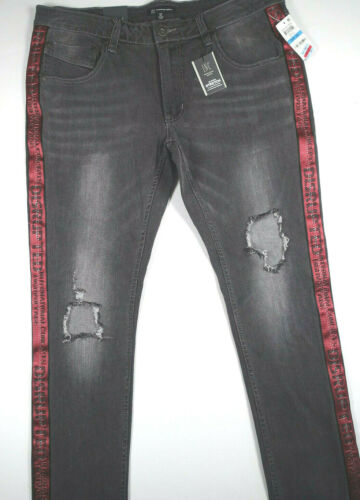 jean noir International et skinny Pantalon 34x32 Inc destructeur en Stockholm Concepts HSq171