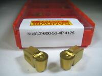 Factory Pack Sandvik N151.2-600-50 T-max Q Cut Carbide Inserts Grooving Tool