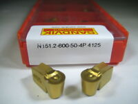 Factory Pack Sandvik N151.2-600-50 T-max Q Cut Carbide Inserts Grooving Tool