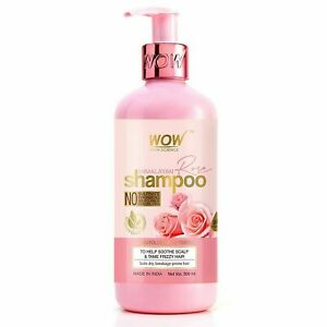 WOW Skin Science Himalayan Rose Shampoo with Rose Hydrosol 300ml