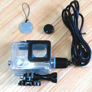 Transparent-Waterproof-Case-USB-Charging-Outdoor-Sports-For-GoPro-Hero-4-3