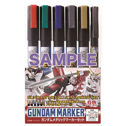 GMS121 Gundam metallic marker set GSI Creos FROM JAPAN