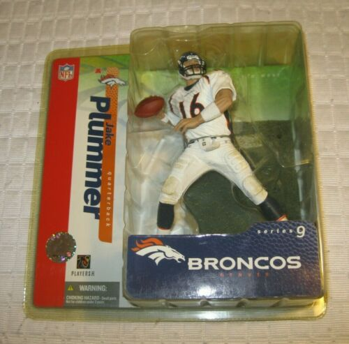Jake Plummer McFarlane Denver Broncos maillot blanc série 9