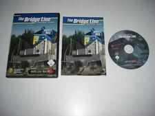 THE BRIDGE LINE Pc Maple Leaf Add-On Expansion Microsoft Train Simulator MSTS