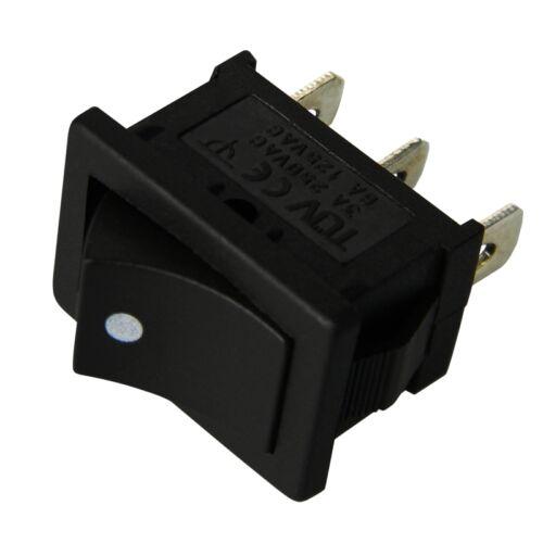 EIN tastend 10 WippTaster 21x15mm EIN//EIN 6//3A 125//250V TASTER