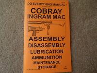 Cobray Ingram Mac 10 .380 9mm .45 Semi Auto Or Sub Machine Gun Manual 27 Pages