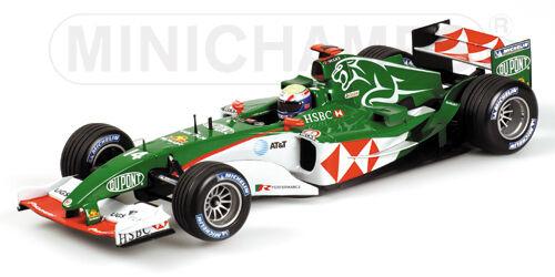 Escala 1 18 HSBC Jaguar R5 temporada 2004 Mark Webber