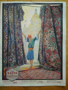 Rare-catalogue-Primavera-Printemps-tapis-8-pages-TBE-1924-ceramique-verre-Chine