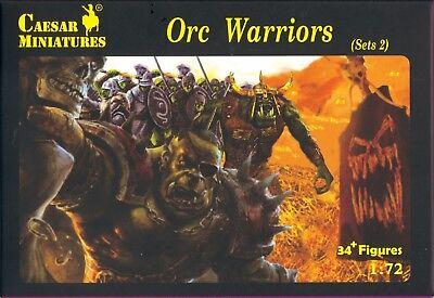 Caesar Miniatures - Orc Warriors (set 2) - 1:72 Gebruiksgoederen