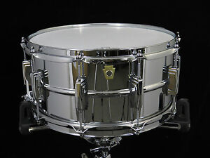 Ludwig-LM402-Supraphonic-Snare-Drum-6-5-x-14-Excellent-Used-Condition