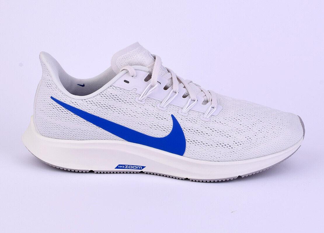 Nike Air zoom Pegasus 36 caballeros caminar zapatos nuevo blancoo aq2203-005