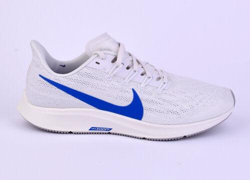 Nike Air Zoom Pegasus 36 Herren Laufen Schuhe Neu Weiß AQ2203-005