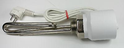 Elektroheizstab Heizpatrone Heizstab Pufferspeicher 3000 Watt 1 1//4 Zoll