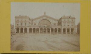 Parigi Gare Da L È Strasburgo Carte de visite CDV Foto Vintage Albumina