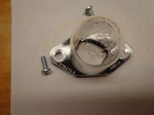 64-74 Mopar A B Body Charger Road Runner Barracuda Bullet License Plate Lens