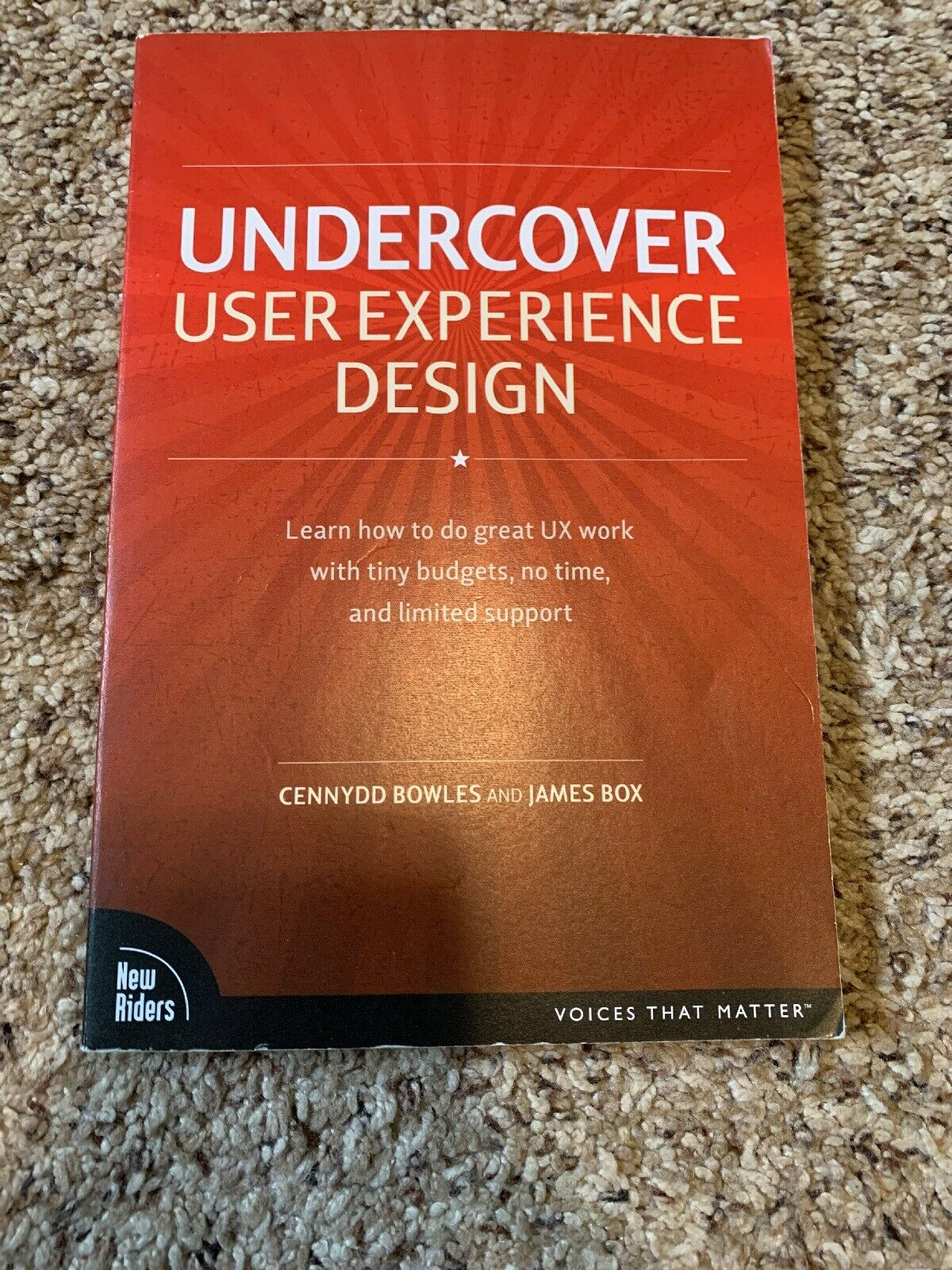 Voices That Matter Ser Undercover User Experience Design By James Box And Cennydd Bowles 2010 Trade Paperback For Sale Online Ebay