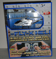5 Helicopters I-fly-x Gyro Heli Metal 3.5ch Infrared - Missing App To Fly