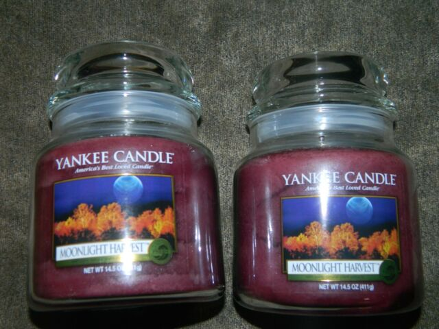 Yankee Candle Moonlight Harvest 14 5 Oz Jar X 2
