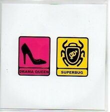 (826B) Karim Fanous, Drama Queen / Superbug - DJ CD