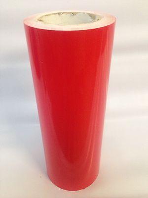"""1 Roll  Red Vinyl 24 """" x 50 yards  ( 150 Feet  ) Plotter Cutter  Liquidation"""