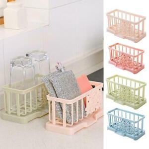 Kitchen-Sink-Caddy-Sponge-Holder-Storage-Organizer-Soap-Drainer-Racks-Strainer-S