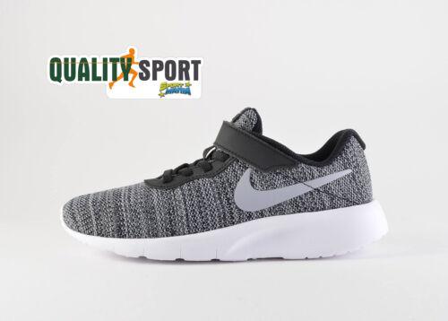 Nike Tanjun Grigio Scarpe Bambino Sportive Sneakers Running 844868 019