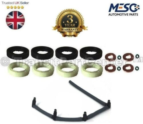 INJECTOR SEAL KIT /& LEAK OFF PIPE MINI R56 ONE D COOPER CLUBMAN R55 1.6 2006 ON