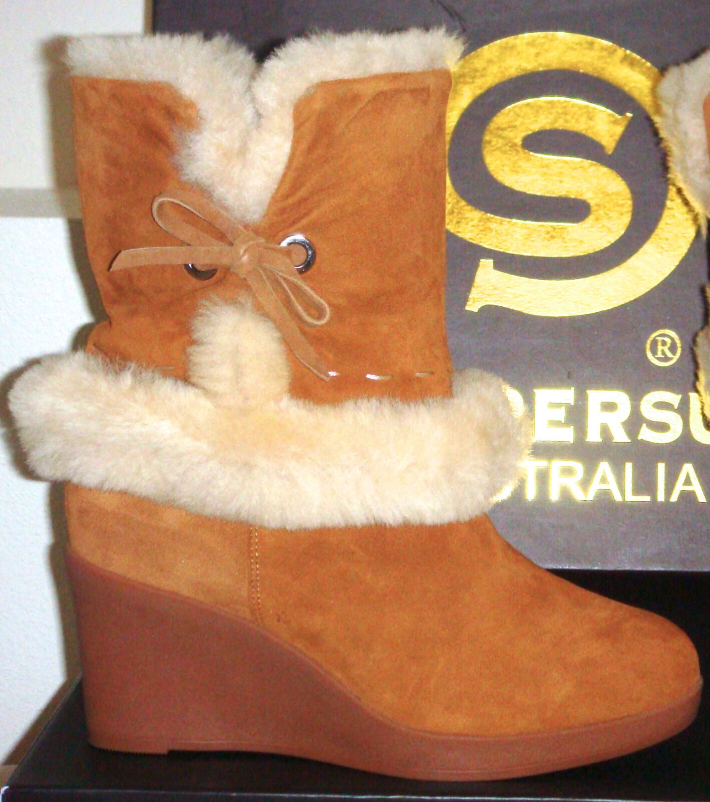 Shearers Ugg Original Boots Australia size 8 , Kelly Chestnut.