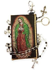 Our-Lady-Of-Guadalupe-Tapestry-Keepsake-Rosary-Icon-Pouch-Key-Chain-Holder