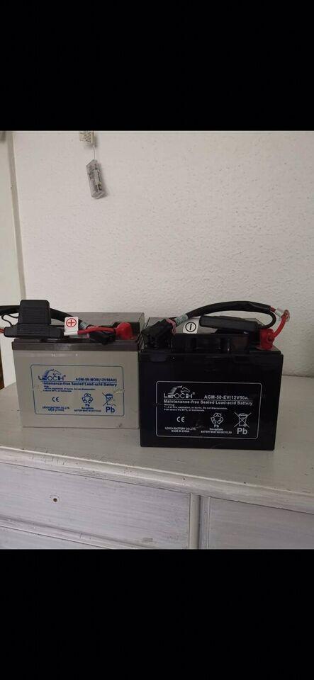 Batterier 12 volt