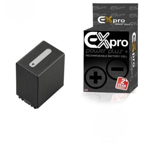 Ex-Pro Cámara Batería NP-FV100 NPFV 100 Para Sony FDR-AX40 FDR-AX45 FDR-AX53