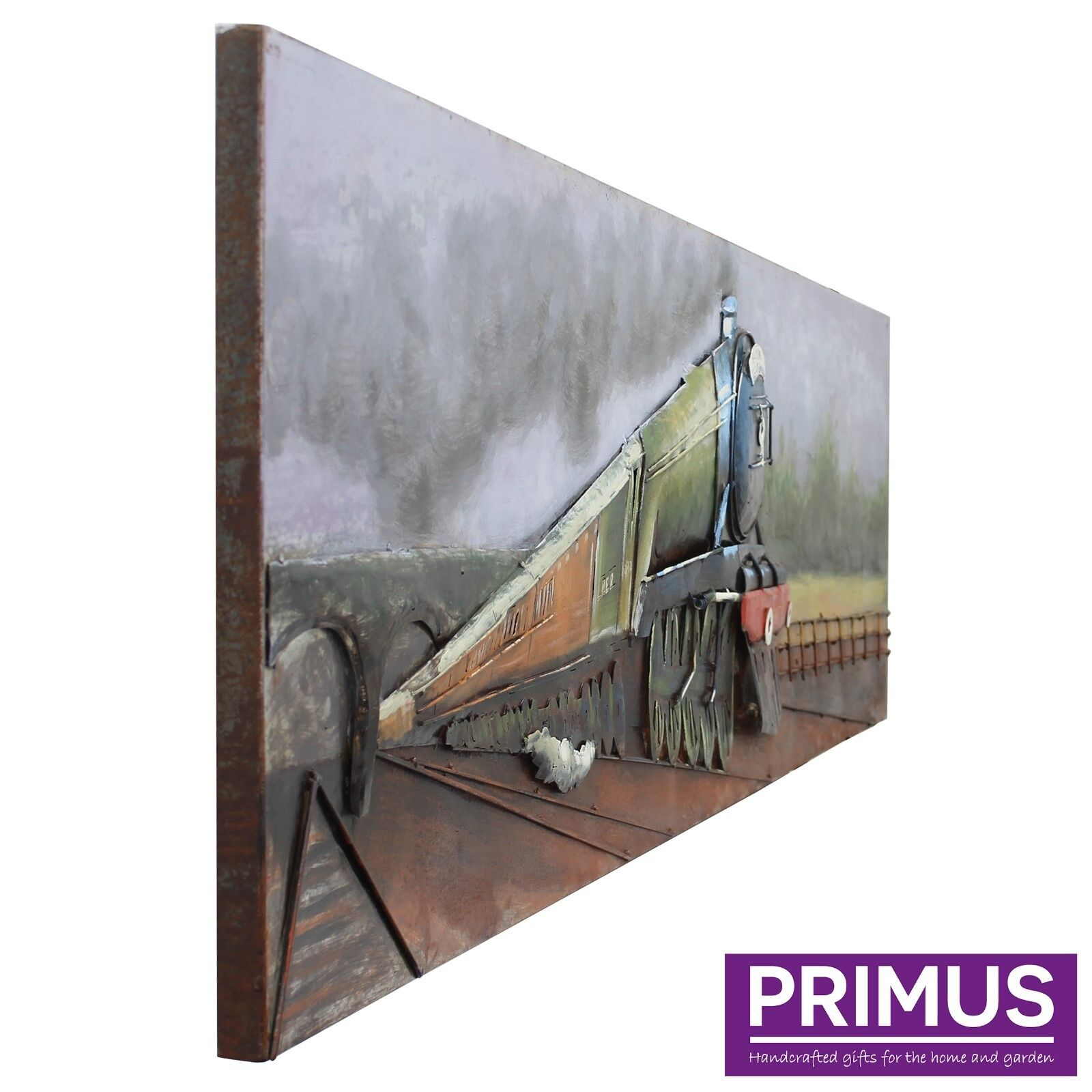 Primus The Flying Flying Flying ScotsFemme 3D Hand Crafted Métal Wall Art/Sculpture SUPERBE! | économique Et Pratique