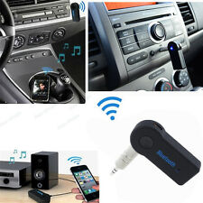 Wireless Bluetooth 3.5mm Car Aux Audio Stereo Music Receiver Adapter For GMC