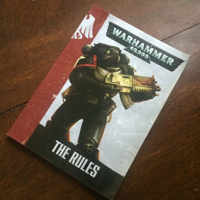 Rule Book 7th Edition A5 Small English Warhammer 40K 40000 2014 Games Workshop