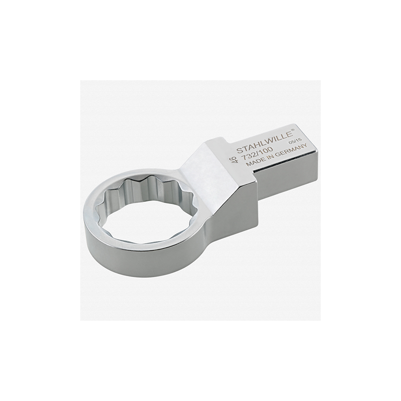 Stahlwille 58221030 732 100 Ring insert tool 30 mm, 22x28 mm
