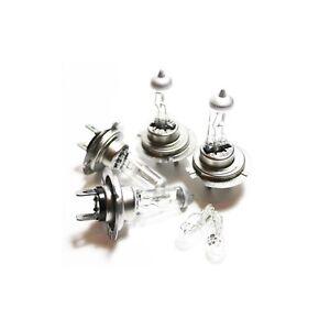 H7 H7 501 55w Clear Xenon HID High/Low/Side Light Beam Headlight Bulbs