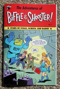 The-Adventures-of-Biffle-amp-Shooster-Comic-Book-No-1-By-Mike-Kazaleh