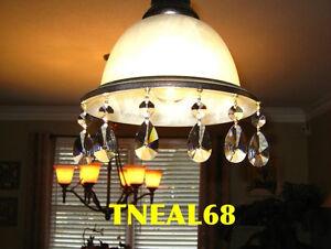6 real crystal magnetic teardrop pear 3d shape wedding chandelier image is loading 6 real crystal magnetic teardrop pear 3d shape aloadofball Image collections