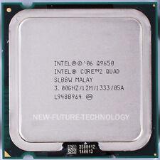 Intel Core 2 Quad Q9650 3 GHz 12 MB 1333 MHz LGA 775 CPU Processor 100% Tested