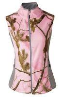 Cabela's Xl Large Med Realtree Ap Womens Ladies Fleece Vest Pink Camo Jacket